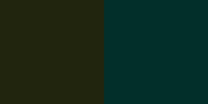olivevsdarkteal