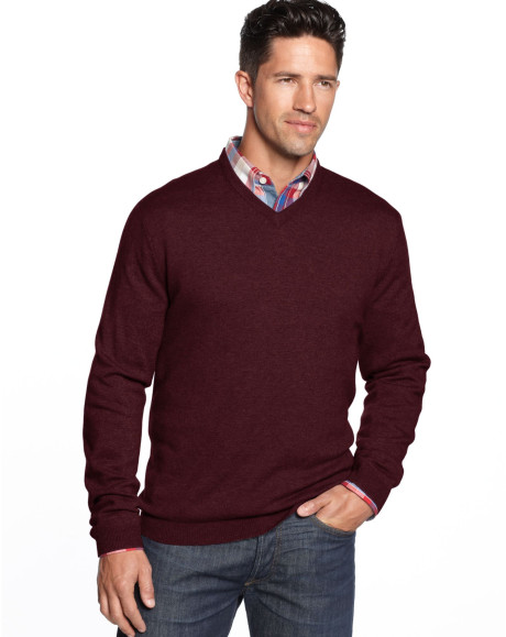 weatherproof-cranberry-heather-merinocashmere-blend-solid-vneck-sweater-product-1-13600565-008946919_large_flex