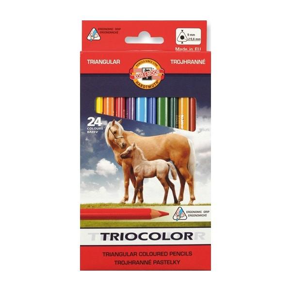 pastelky-koh-i-noor-triocolor-24-kusu