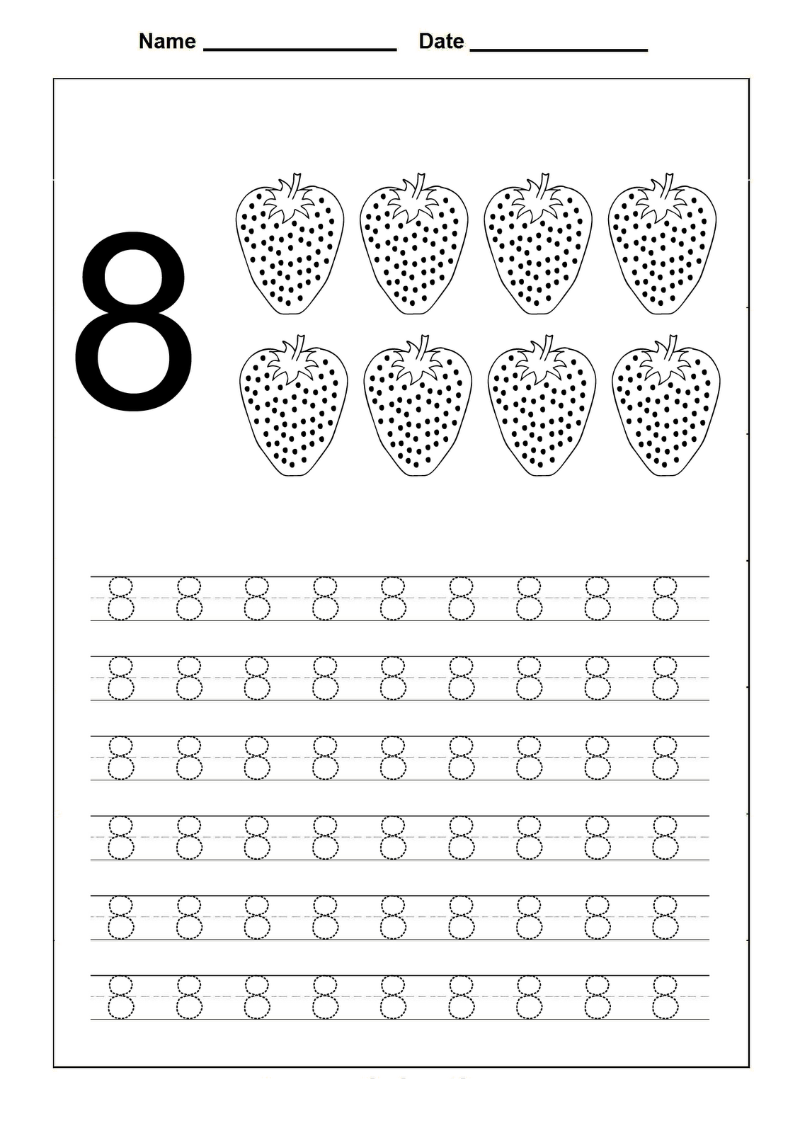 number-8-worksheets-for-practice