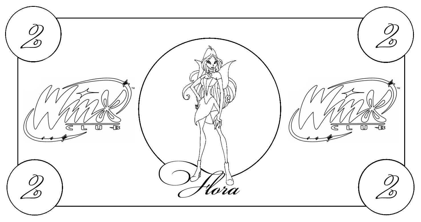 printable-play-money-winx-black-n-white-flora2