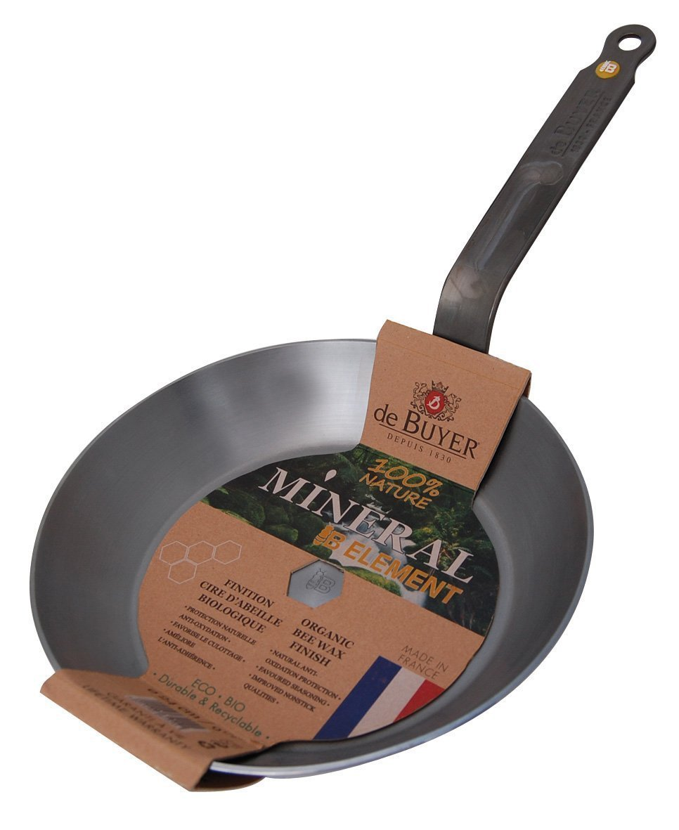 deBuyer cast iron pan