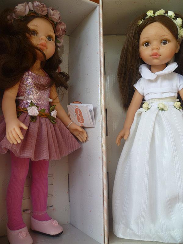 Carol balerina a Carol v bielom.