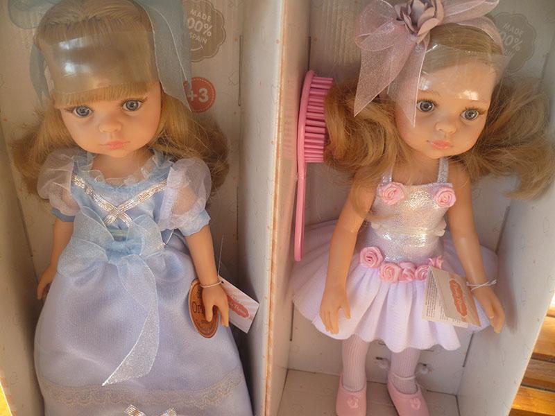 Carla princezná a Carla baletka.
