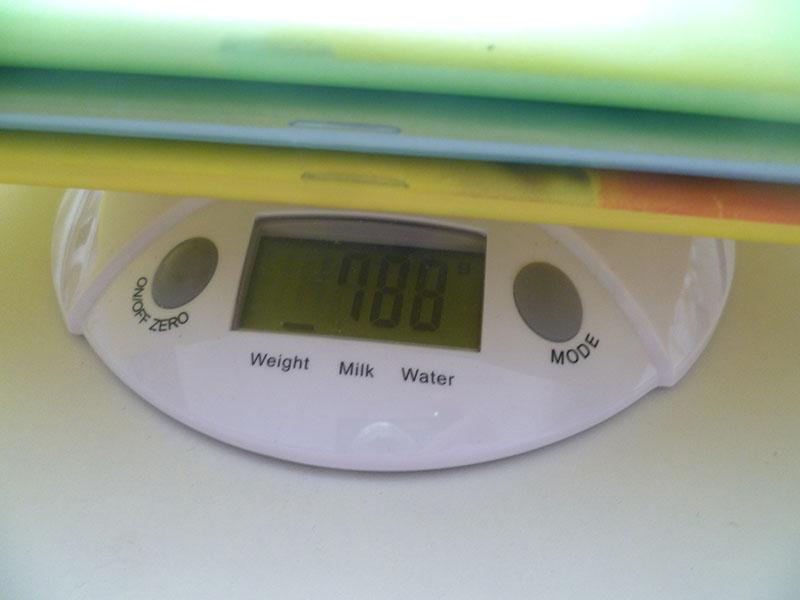 3 ročník váha učebníc pondelok