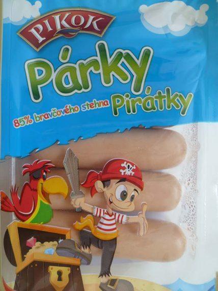 Pirátske párky. Lidl