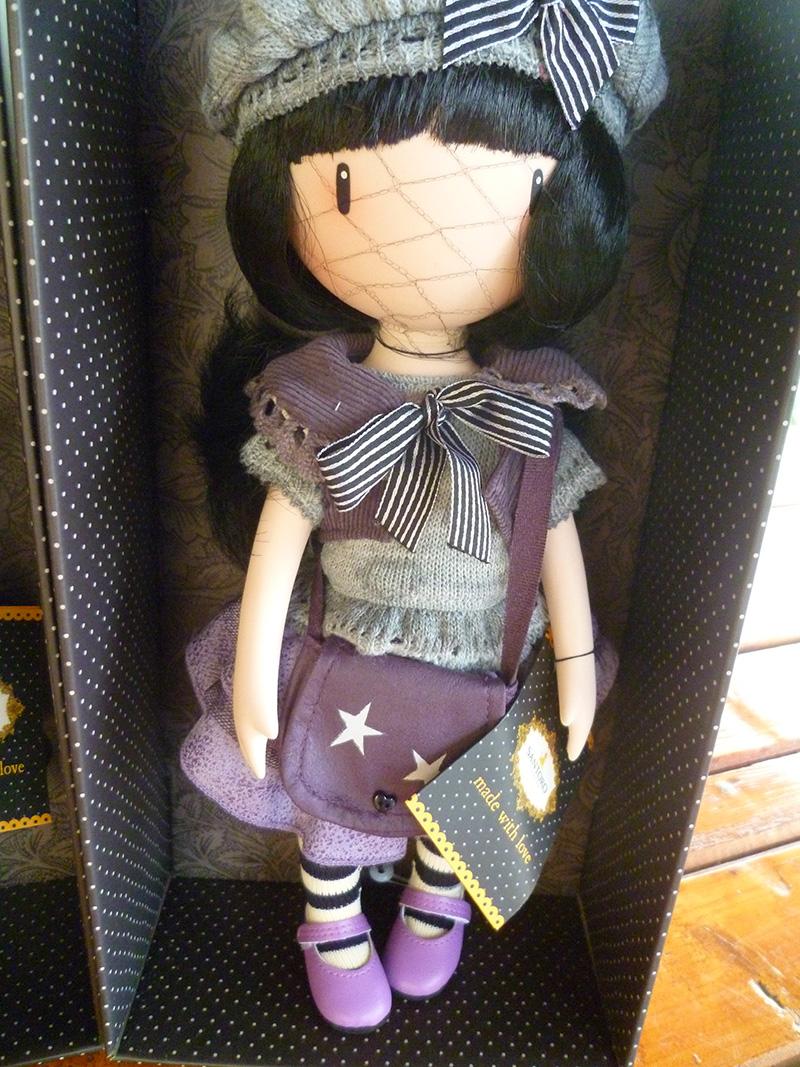 Santoro London Gorjuss 06 Little Violet