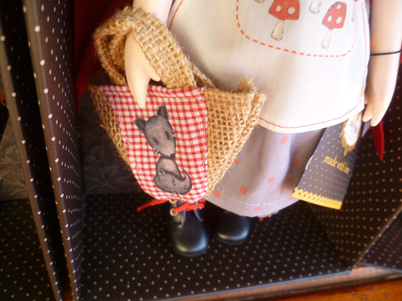 Santoro London Gorjuss 17 Little Red Riding Hood