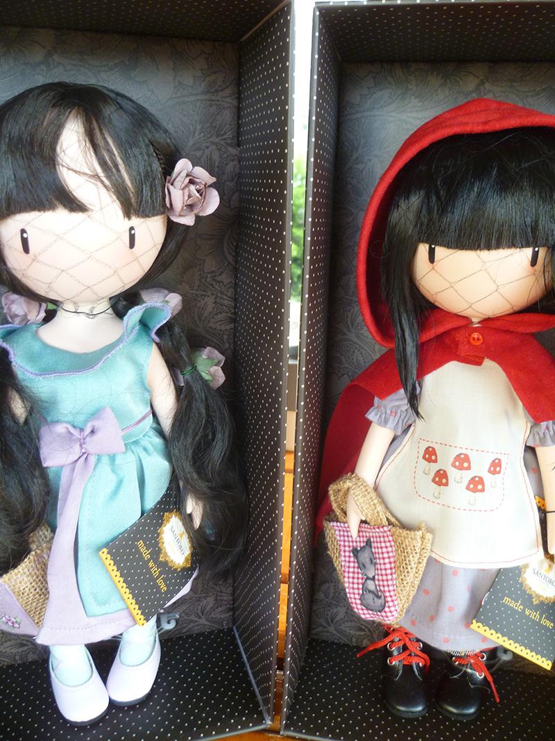 Santoro London Gorjuss 14 Rosebud & 17 Little Red Riding Hood