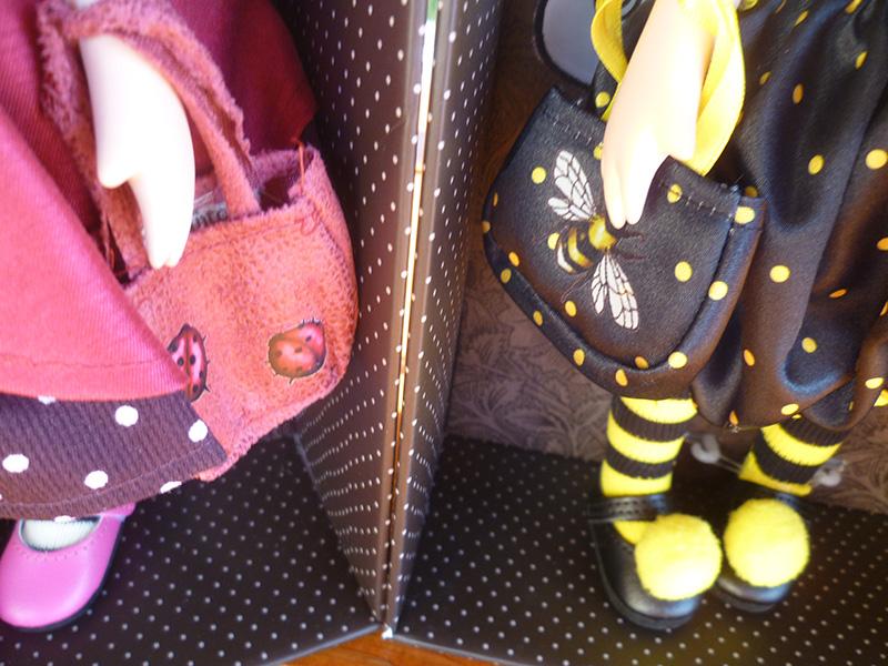 Santoro London Gorjuss 02 Ladybird & 19 Bee-Loved