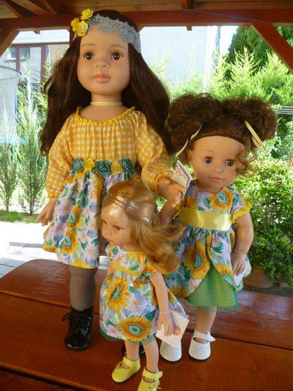 Paola Reina Lidia, Emily, Dasha