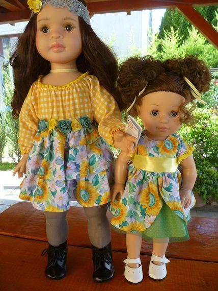 06033 Emily a slnečnice 06566 Lidia a slnečnice